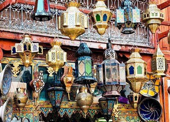 Lámparas Marrakech