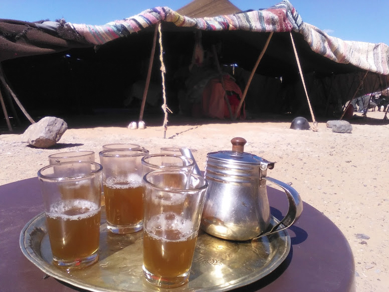 Campamento nómada